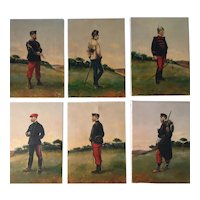 Collection of 6 Historical Military paintings