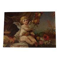 Cupid in a Landscape by Dutch artist Lucia van Groningen