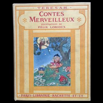 "Rare book:  ""Contes  Merveilleux""  par Teresah"