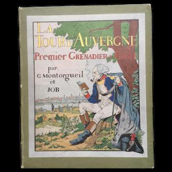 """Rare Books: """"La Tour d'Auvergne"""" Premier Grenadier de France"""