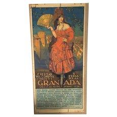 Fiestas del Corpus Christi y Feria Real GRANADA 1926