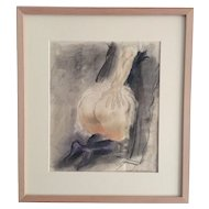Milivoy Uzelac an Erotic drawing by this well known Croatian artist