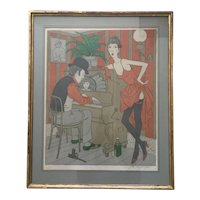 Philippe Noyer a beautiful Lithograph by this well known French artist