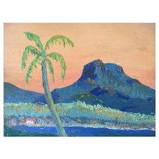 "Tahiti - French Polonesia "" Mount Mehani """
