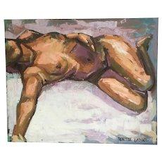 "Gabriel Benitez - Spain  ""study of a female nude"""