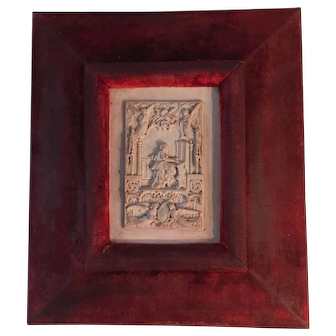 19th'Century French Dripstone Relief