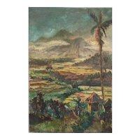 "Hasan Djaafar ""Indonesian Landscape """