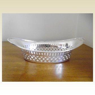 Victorian Chester Silver Hallmarked Dish