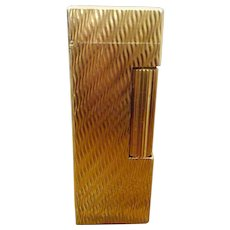 Vintage Dunhill Gold Plated Rollagas Cigarette Lighter