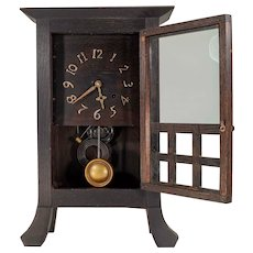 Arts & Crafts Period Mantle Clock
