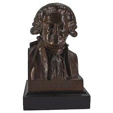 Bronze Bust-Honoré Gabriel Riqueti, comte de Mirabeau
