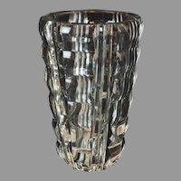 "Art Deco St Louis French Vase by Jean Sala - 7.5"" x  5.25"""