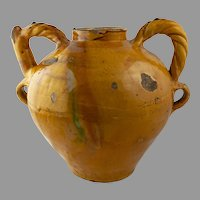 Italian Renaissance Maiolica Water Jug or Wet Drug Jar
