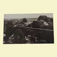 """Important Soviet/Russian WWII Photograph by Dimitri Baltermants Titled """"Carrying Away The Dead"""""""