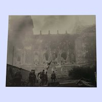 """Important Soviet/Russian WWII Photograph """"Taking Over the Reichstag"""""""