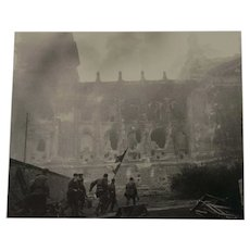 "Important Soviet/Russian WWII Photograph ""Taking Over the Reichstag"""