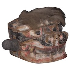 Chinese kara shi shi New Year's mask