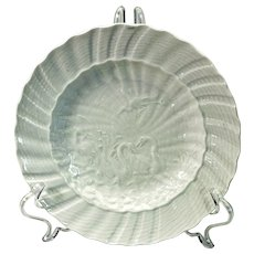 Meissen factory re-strike of bowl from the Swan Service of Saxony 1740