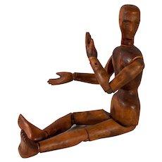 Wooden artist mannequin