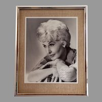 Signed, inscribed original photograph of Barbara Stanwyck,  John Engstead