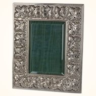 Buccellati Sterling Silver Vine and Leaf Picture Frame