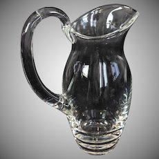 Vintage French St. Louis Crystal Pitcher