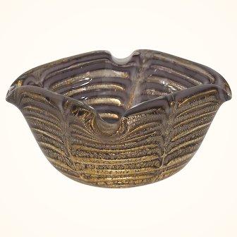 Ercole Barovier Murano Glass Bowl