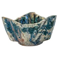 Modernist Japanese Glazed Stoneware Bowl