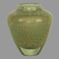 French Murano style vase by Jean Claude Navaro