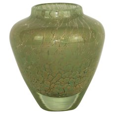 French Murano style vase by Jean Claude Navaro