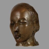 Bronze Mask of a Woman