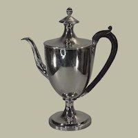George III Sterling Coffee Pot 1796-1797