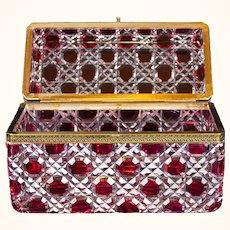 Monumental Louis Phillipe style bijoux/casket or glove box