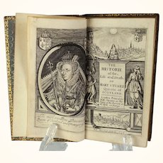 """book: """"The Historie of the Life and Death of Mary Stuart Queene of Scotland"""" published 1636"""