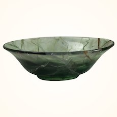 Small Green Flourite Bowl