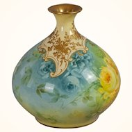 Royal Bonn Hand-painted Bud Vase circa 1900