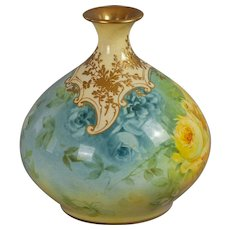 Royal Bonn Hand-painted Bud Vase circa 1900