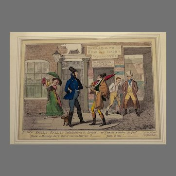George Humphrey - Anglo-Gallic Salutations 1822