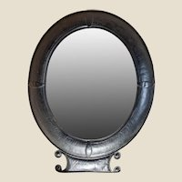 Large 19th c. French Tole Wall Mirror
