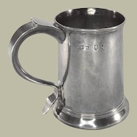 English George III Sterling Ale Mug