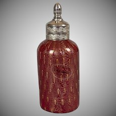 Italian Murano Glass Scent Bottle with Original Label