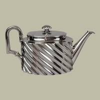 Austro-Hungarian Silver Teapot By Antal Bachruch