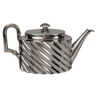 An Austro-Hungarian .800 Silver Teapot mark for 1872-1922 Retailed By Antal Bachruch