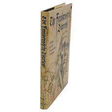"""book: """"The Frankenstein Diaries"""", 1st edition, translated by Rev. Hubert Venables"""