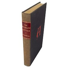 "Book: ""THE SCARLET LETTER: A Romance"" by Nathaniel Hawthorne"