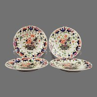 English Coalport Imari style plates c. 1820