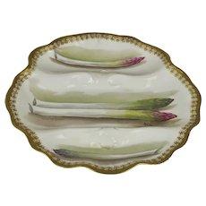 Limoges porcelain 9 Piece Asparagus Service