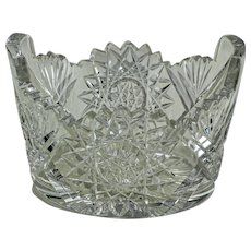 """American Cut Glass Piggin, 3""""x5"""""""