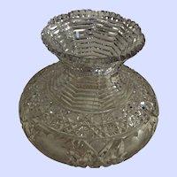 """American Brilliant Period Vase - 6 1/2 """" x 8"""""""