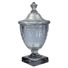 George III 18th c. Irish sweetmeat/covered urn